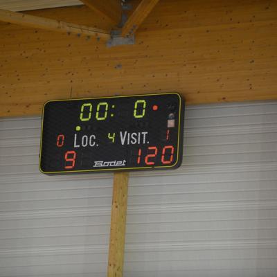 Match Minimes filles contre Landerneau le 29/09/2012
